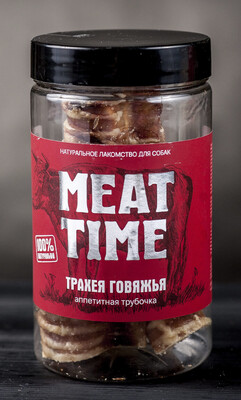 Трахея MEAT TIME говяжья, аппетитная трубочка 50гр.