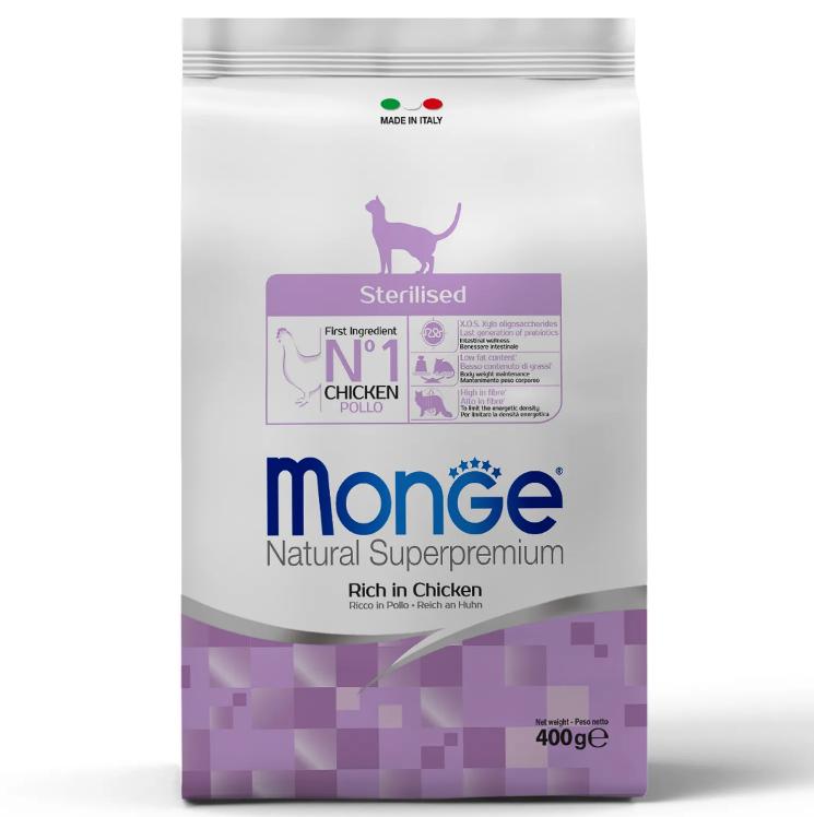 Monge Cat Sterilised корм для стерилизованных кошек