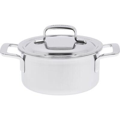 DEMEYERE 'intense 5' kookpot met dubbelwandig deksel 16cm / 1,5L