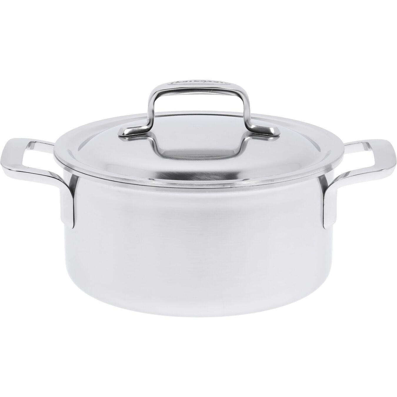 DEMEYERE 'intense 5' kookpot met dubbelwandig deksel 18cm / 2,2L