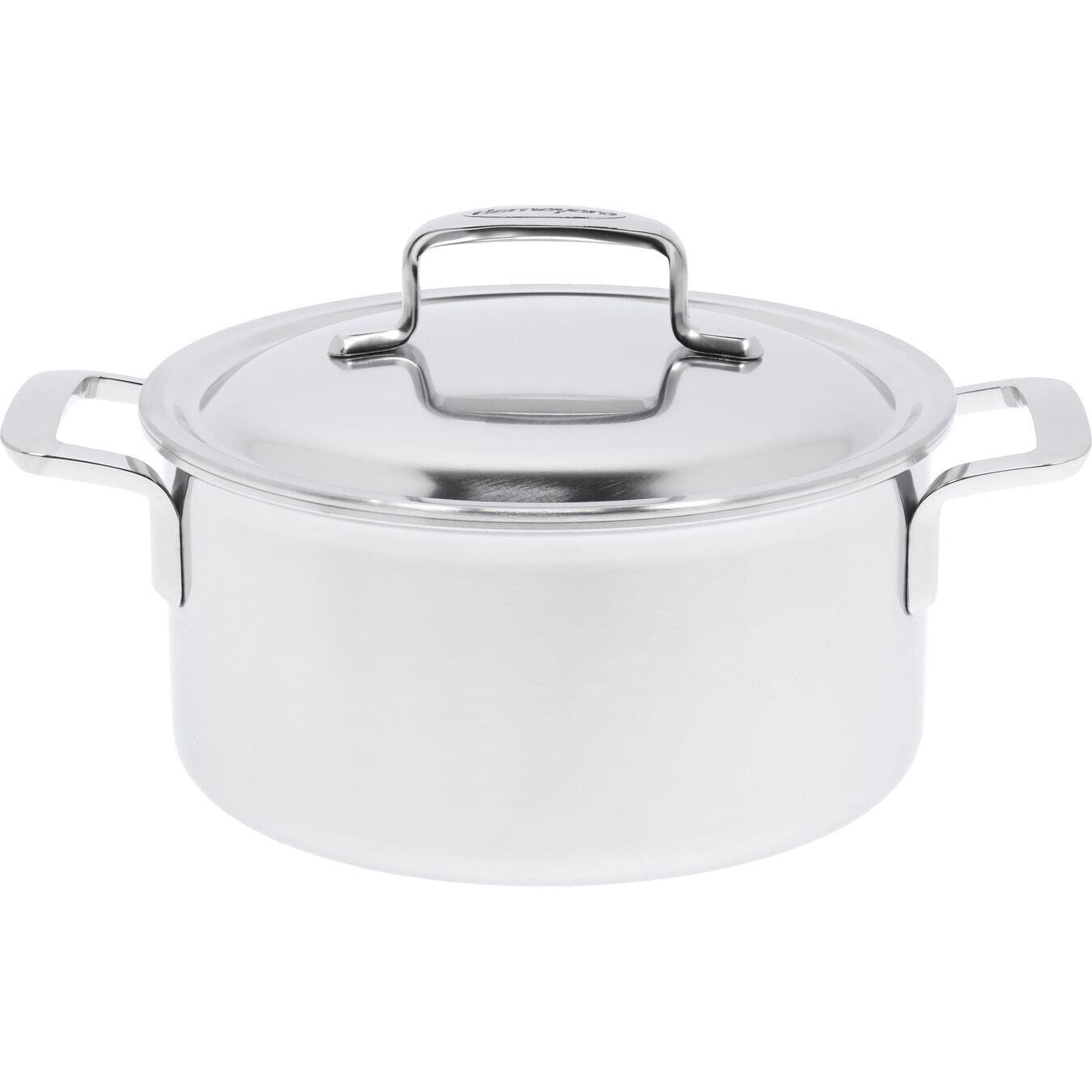 DEMEYERE 'intense 5' kookpot met dubbelwandig deksel 20cm / 3L