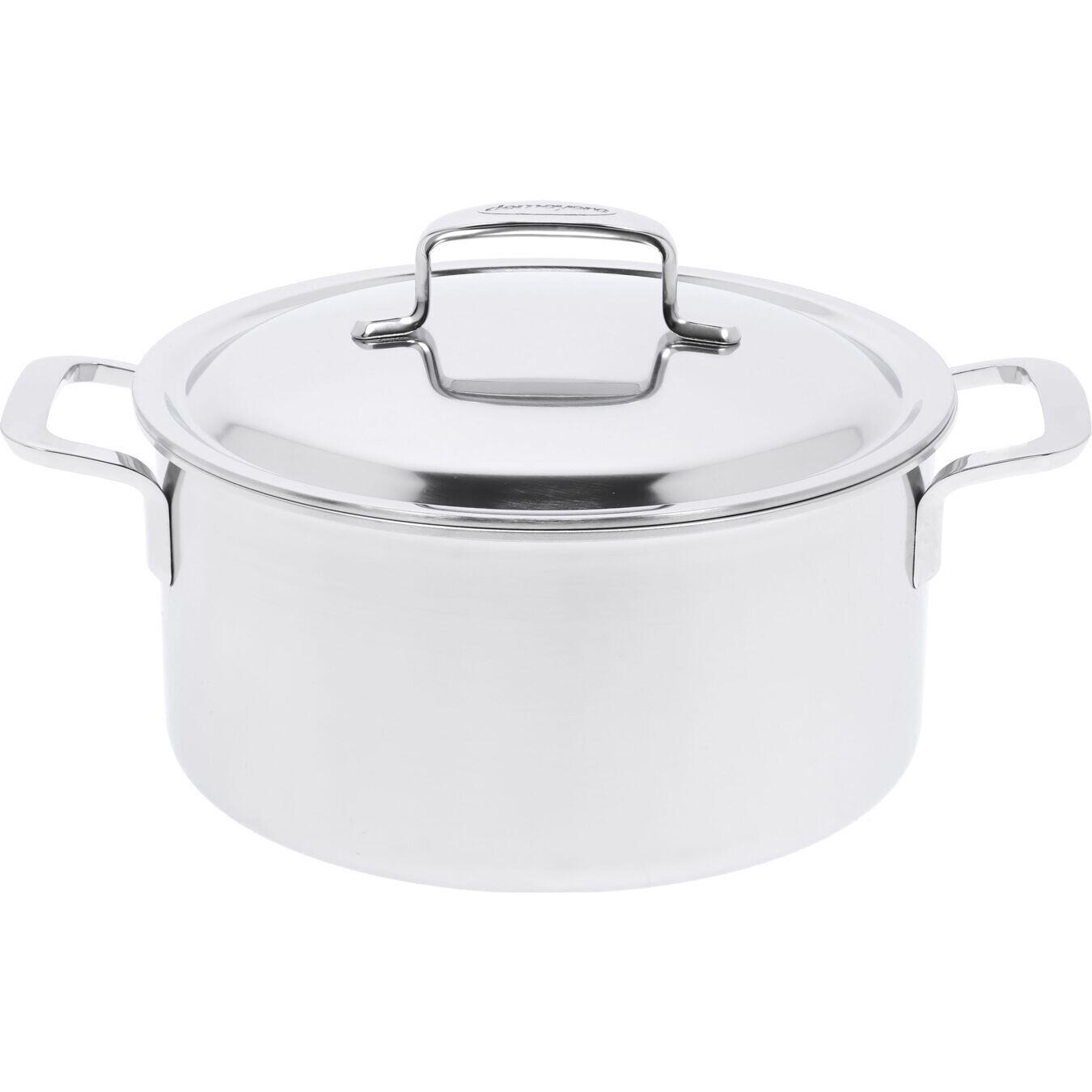 DEMEYERE 'intense 5' kookpot met dubbelwandig deksel 24cm / 5,2L