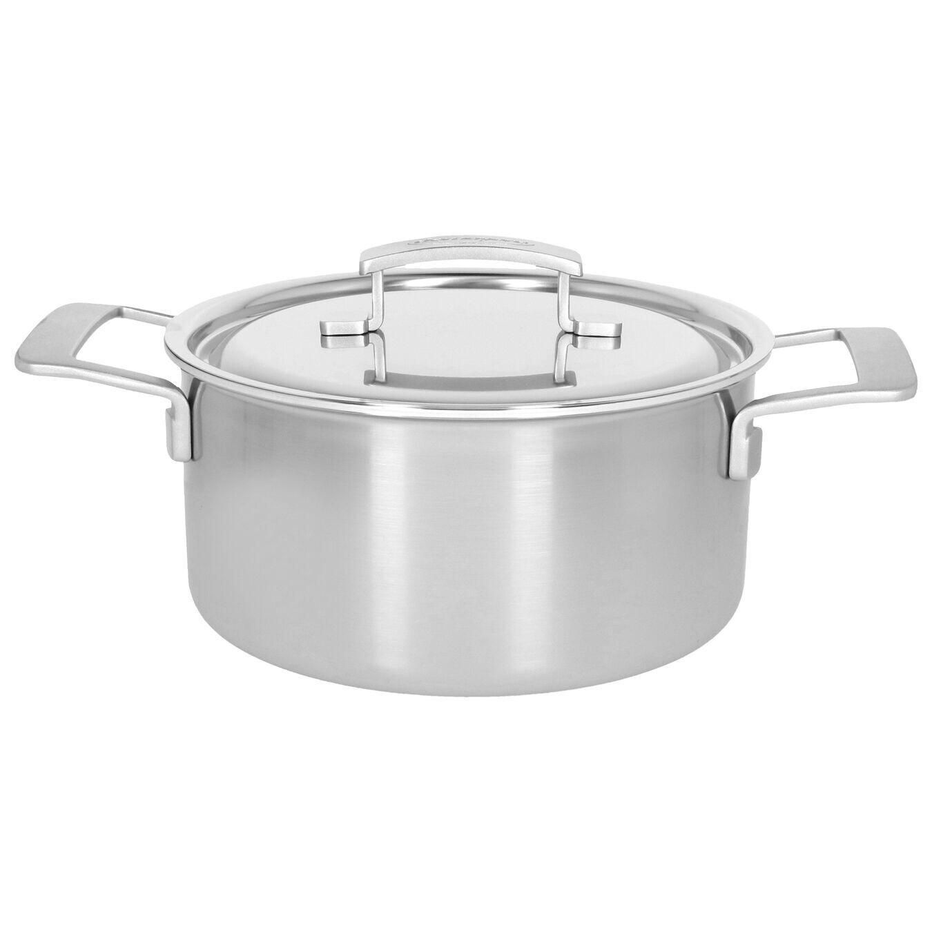 DEMEYERE 'industry 5' kookpot met deksel 22cm / 4L   PROMO 189,00 -30%