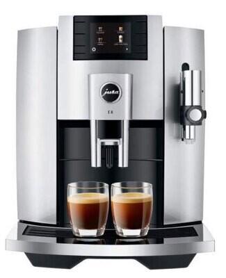 JURA E8 moonlight silver koffievolautomaat