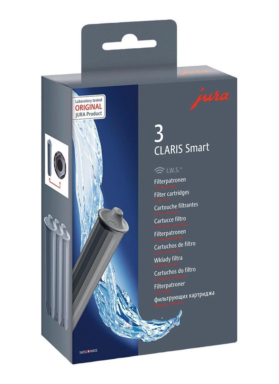 JURA 3-pack claris smart filters