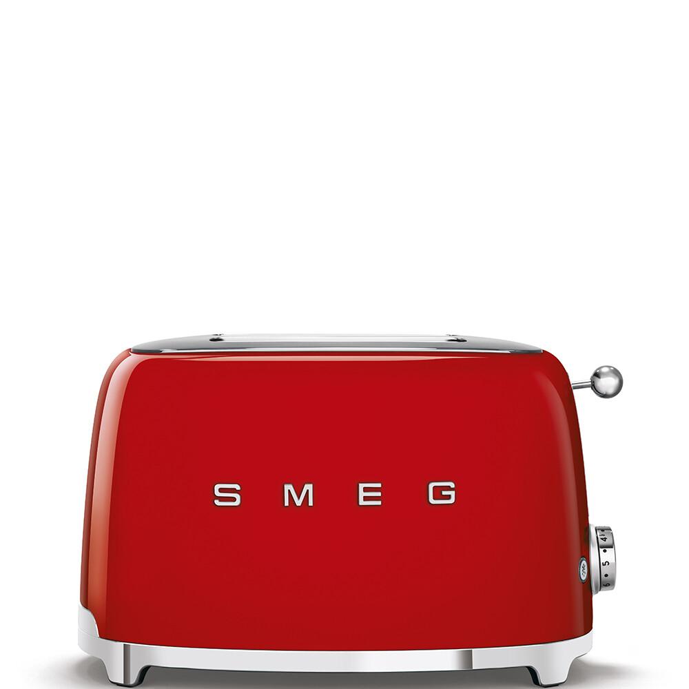 SMEG broodrooster 2x2 rood