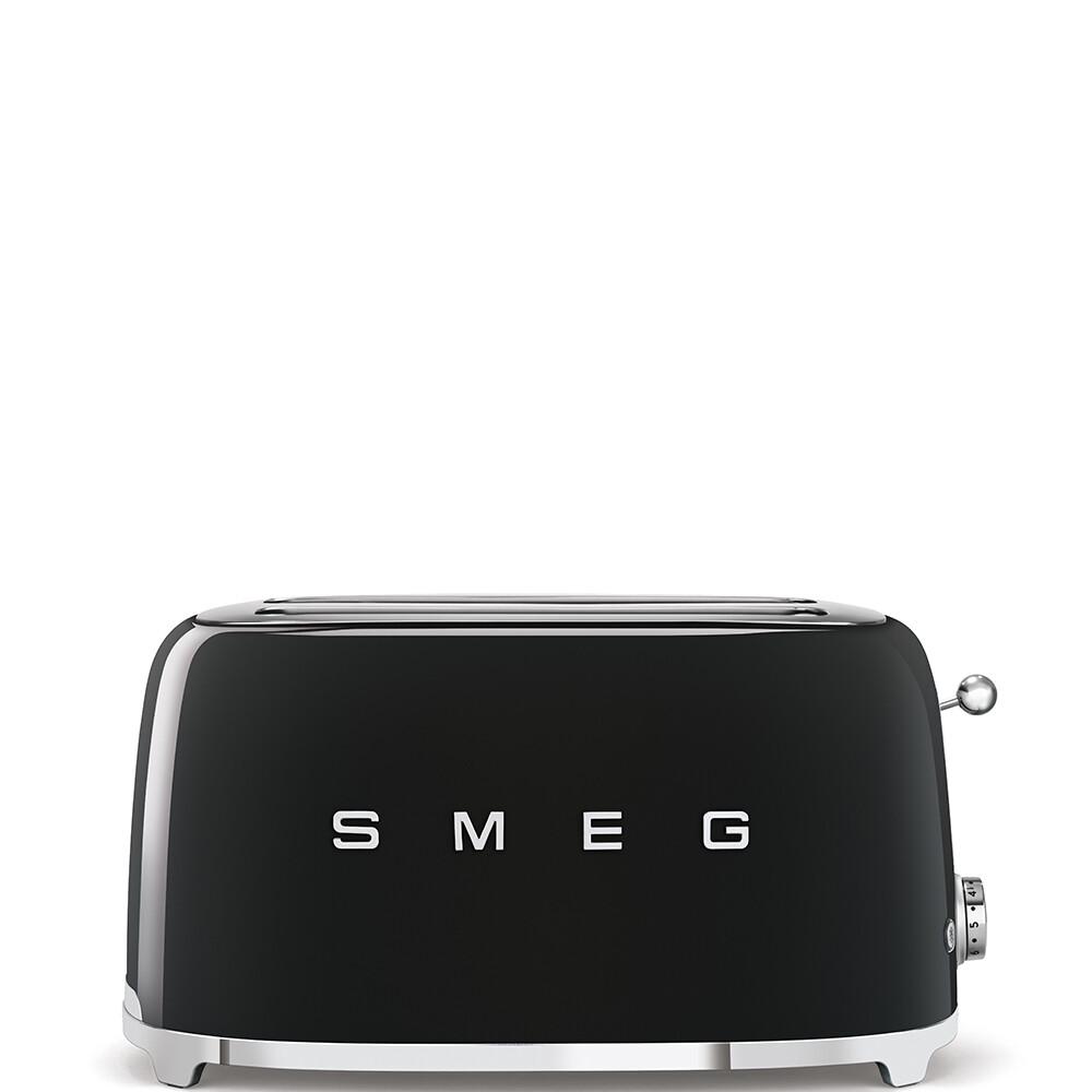 SMEG broodrooster 2x4 zwart