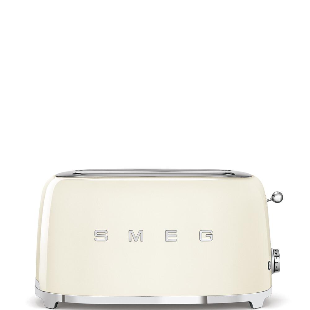 SMEG broodrooster 2x4 crème