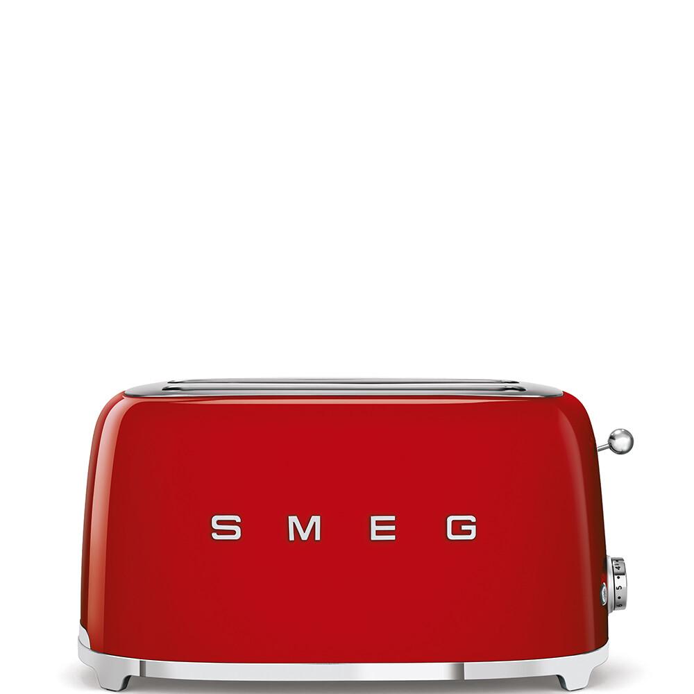 SMEG broodrooster 2x4 rood