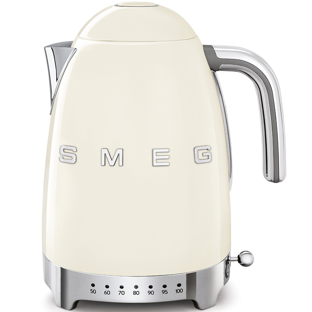 SMEG variabele waterkoker crème