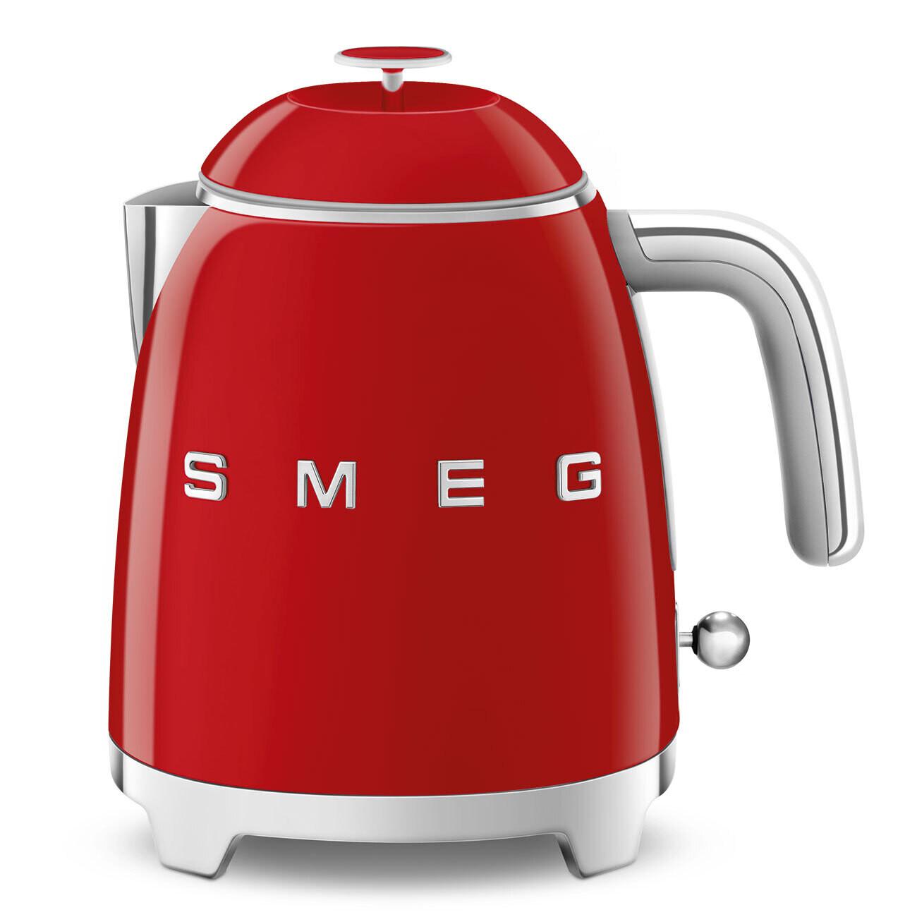 SMEG mini waterkoker rood