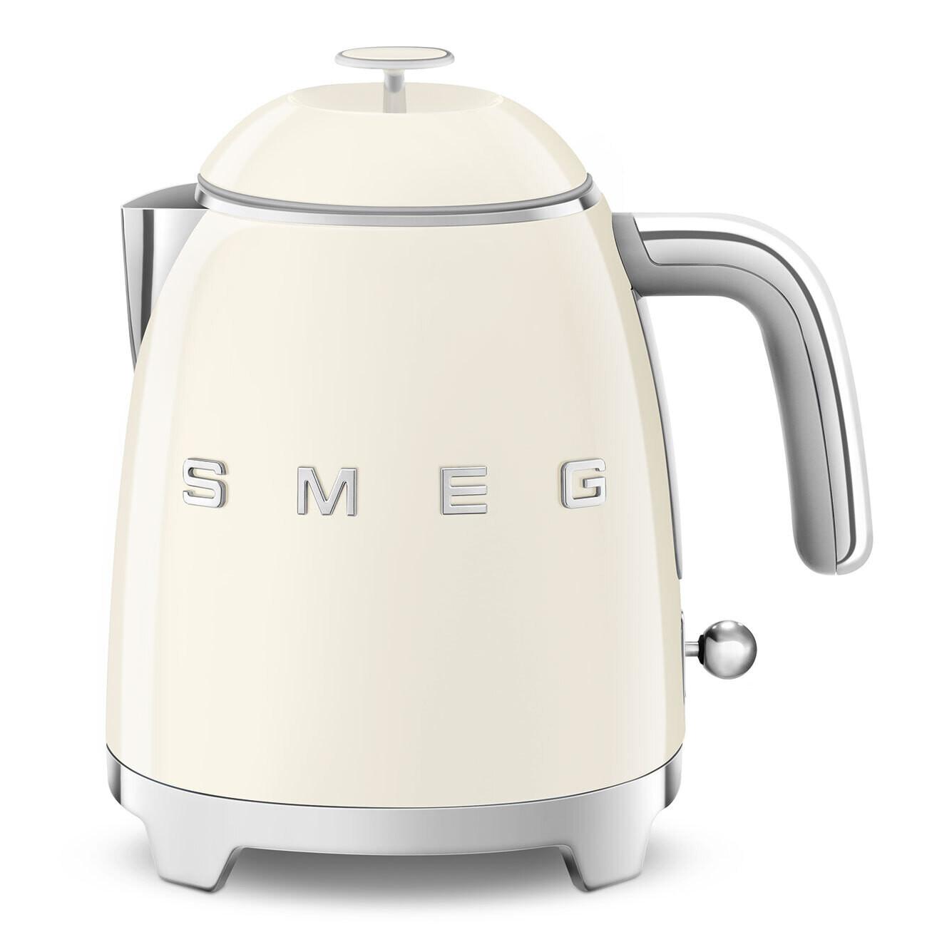 SMEG mini waterkoker crème