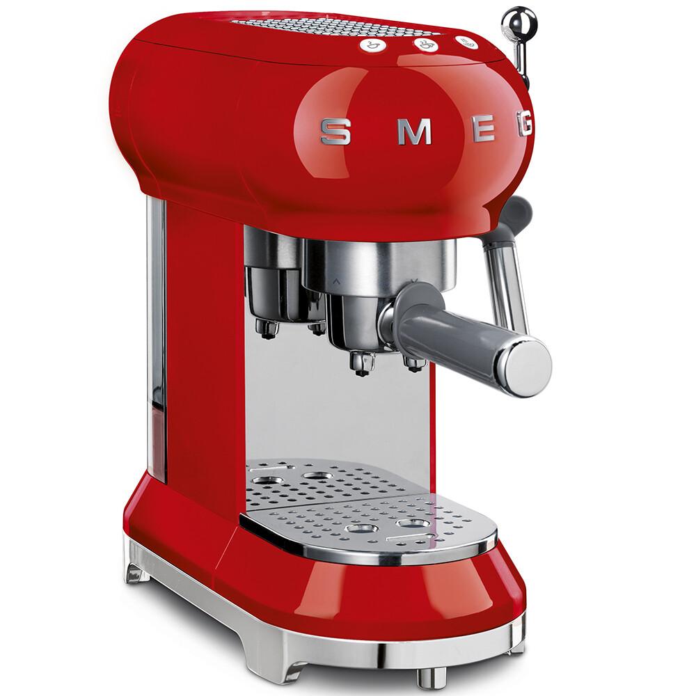 SMEG Espresso koffiemachine rood