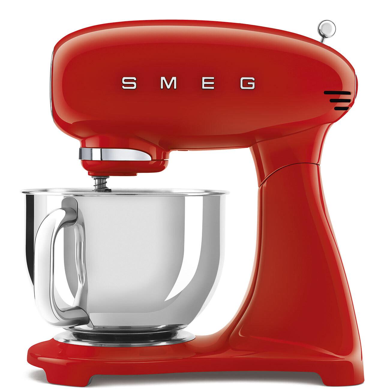 SMEG keukenrobot full colour rood