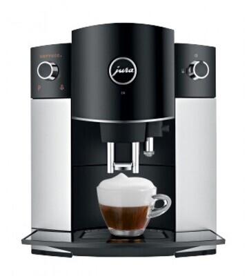 JURA D6 platin koffievolautomaat