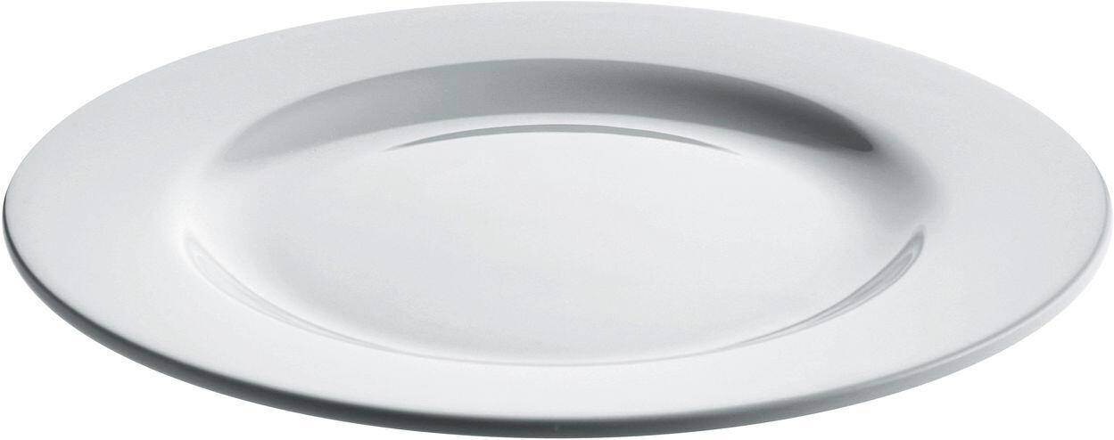 ALESSI 'platebowlcup' set/4 platte borden 27,5cm wit