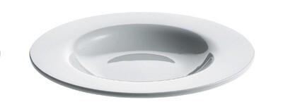 ALESSI 'platebowlcup' set/4 soepborden 22cm wit