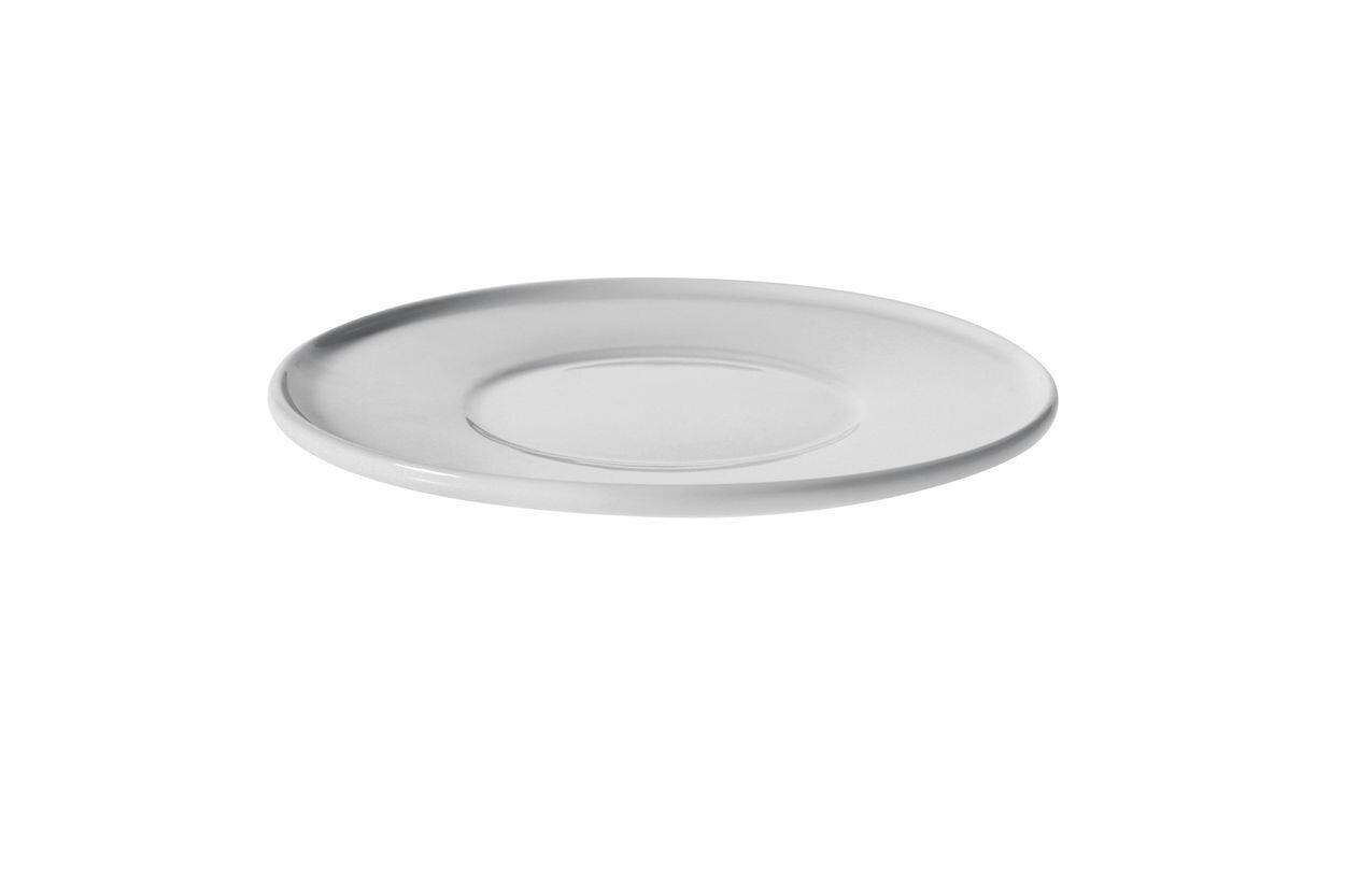 ALESSI 'platebowlcup' set/4 ondertassen 15cm voor koffietassen