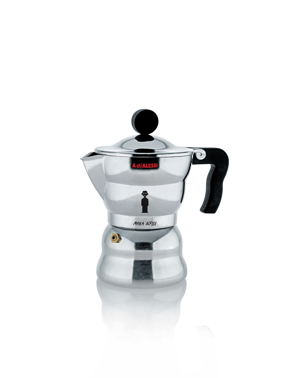 ALESSI 'moka alessi' espresso koffiemaker 3cups