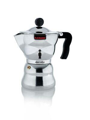 ALESSI 'moka alessi' espresso koffiemaker 6 cups