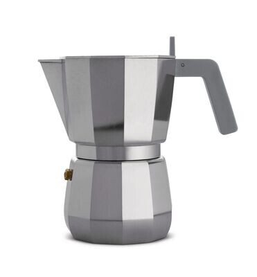 ALESSI 'moka' espresso koffiemaker 6 cups