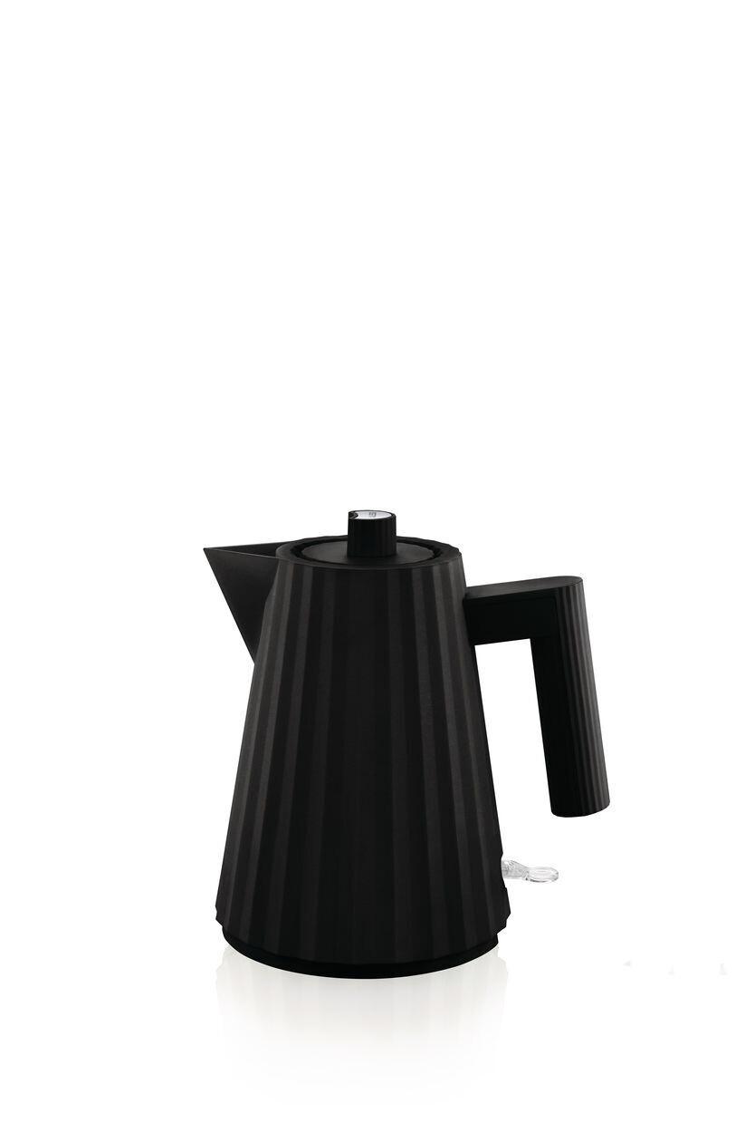 ALESSI 'plissé' elektrische waterkoker 1,0L zwart