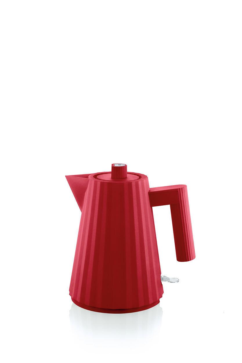 ALESSI 'plissé' elektrische waterkoker 1,0L rood