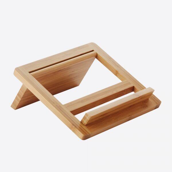 POINT-VIRGULE bamboe tablet- of kookboekstaander
