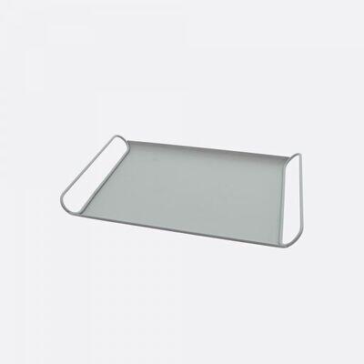 POINT-VIRGULE metalen dienblad saliegroen 37x25cm