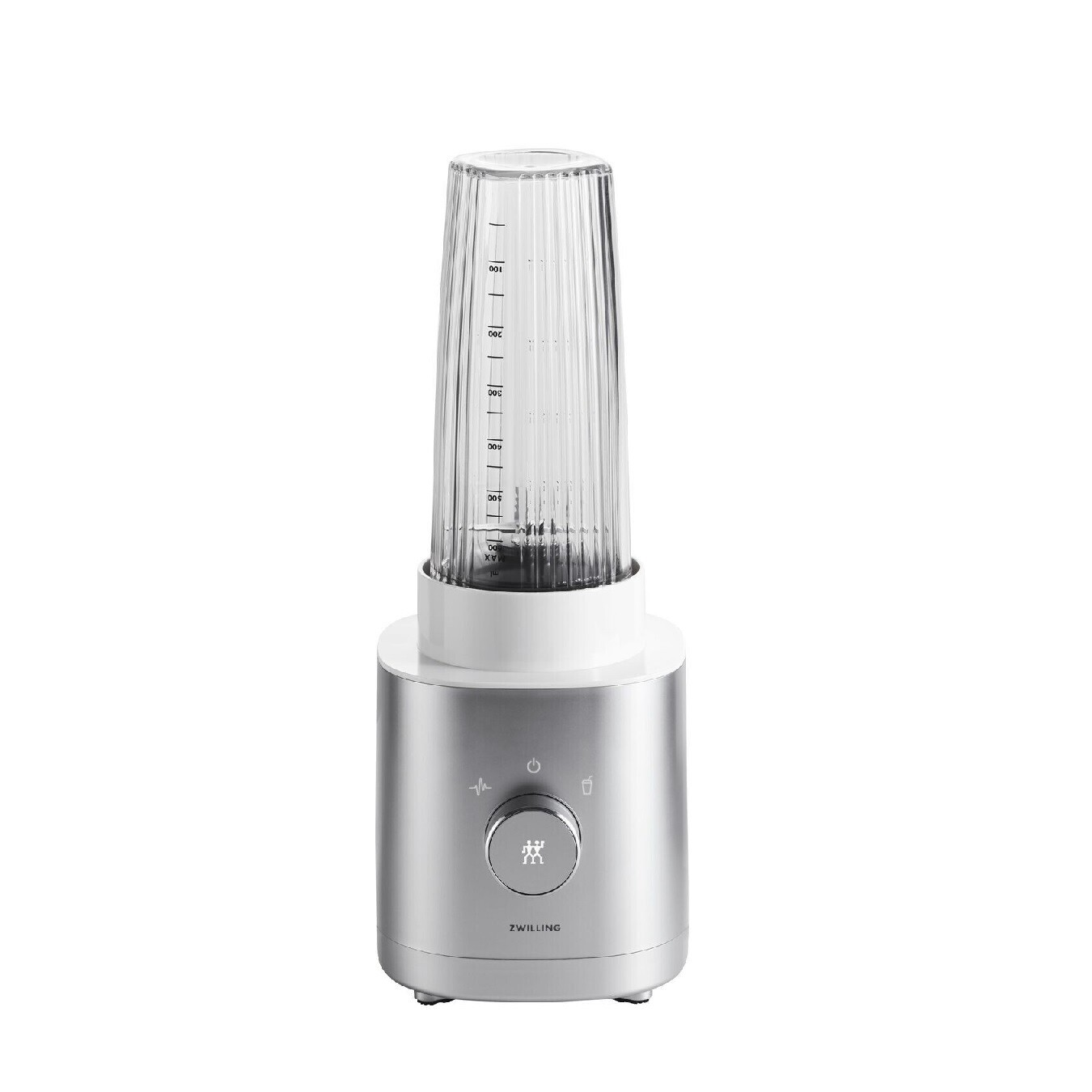 ZWILLING 'enfinigy' personal blender zilver/wit