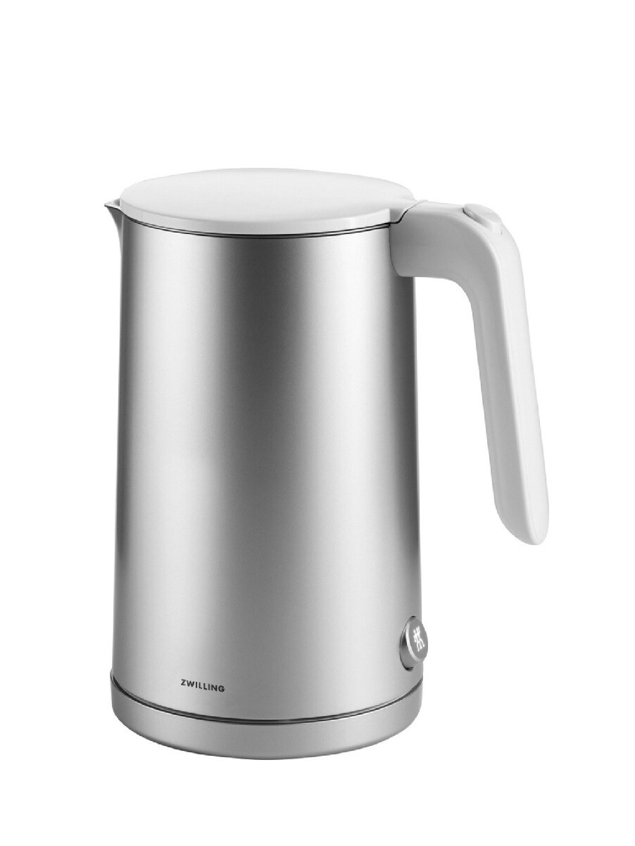ZWILLING 'enfinigy' elektrische waterkoker zilver/wit