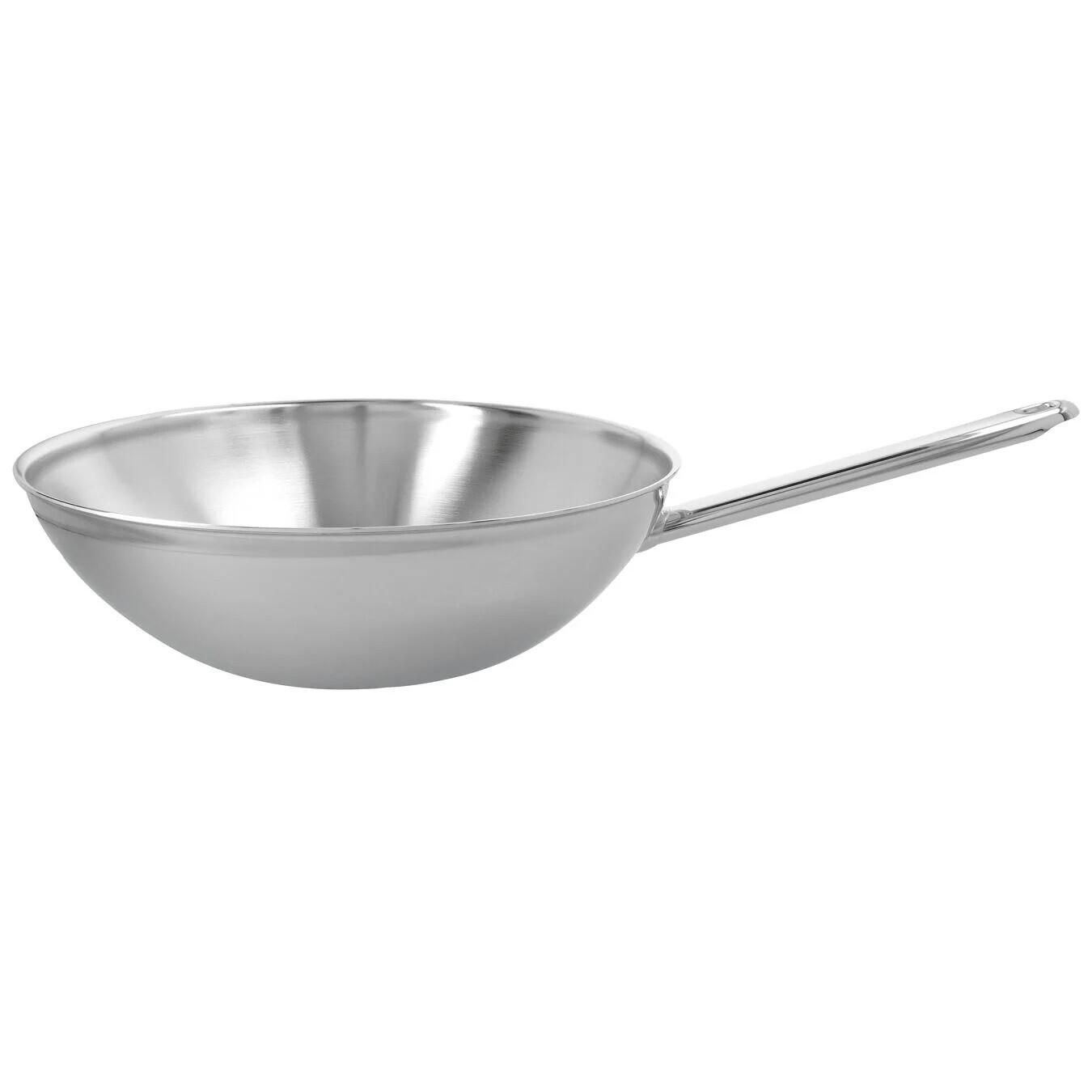 DEMEYERE 'apollo 7' wok 30cm PROMOPAKKET 189,00 -20% NU MET GRATIS GLAZEN DEKSEL TWV €30,00