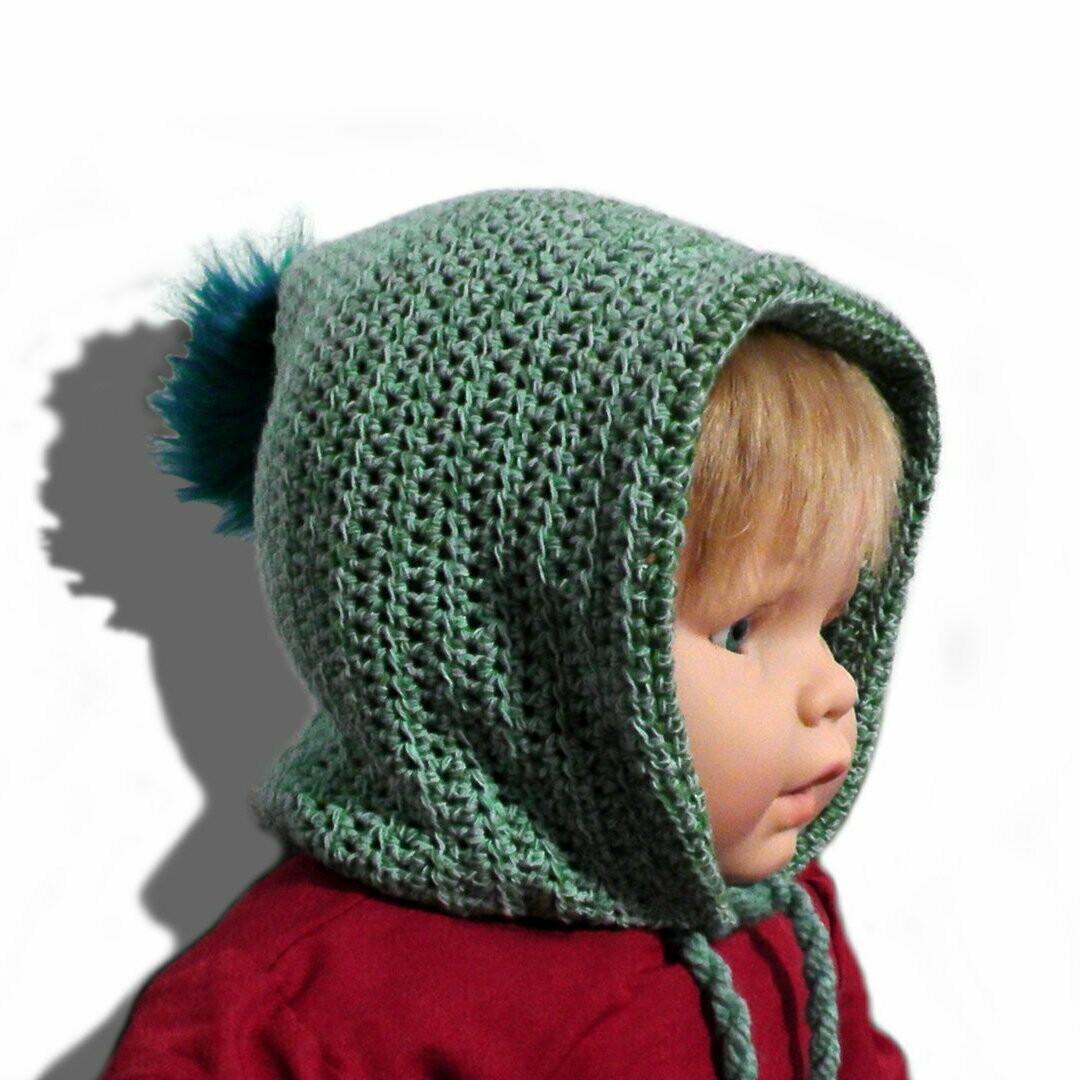 INAARA kids hat crochet pattern video & PDF - Woolpedia®