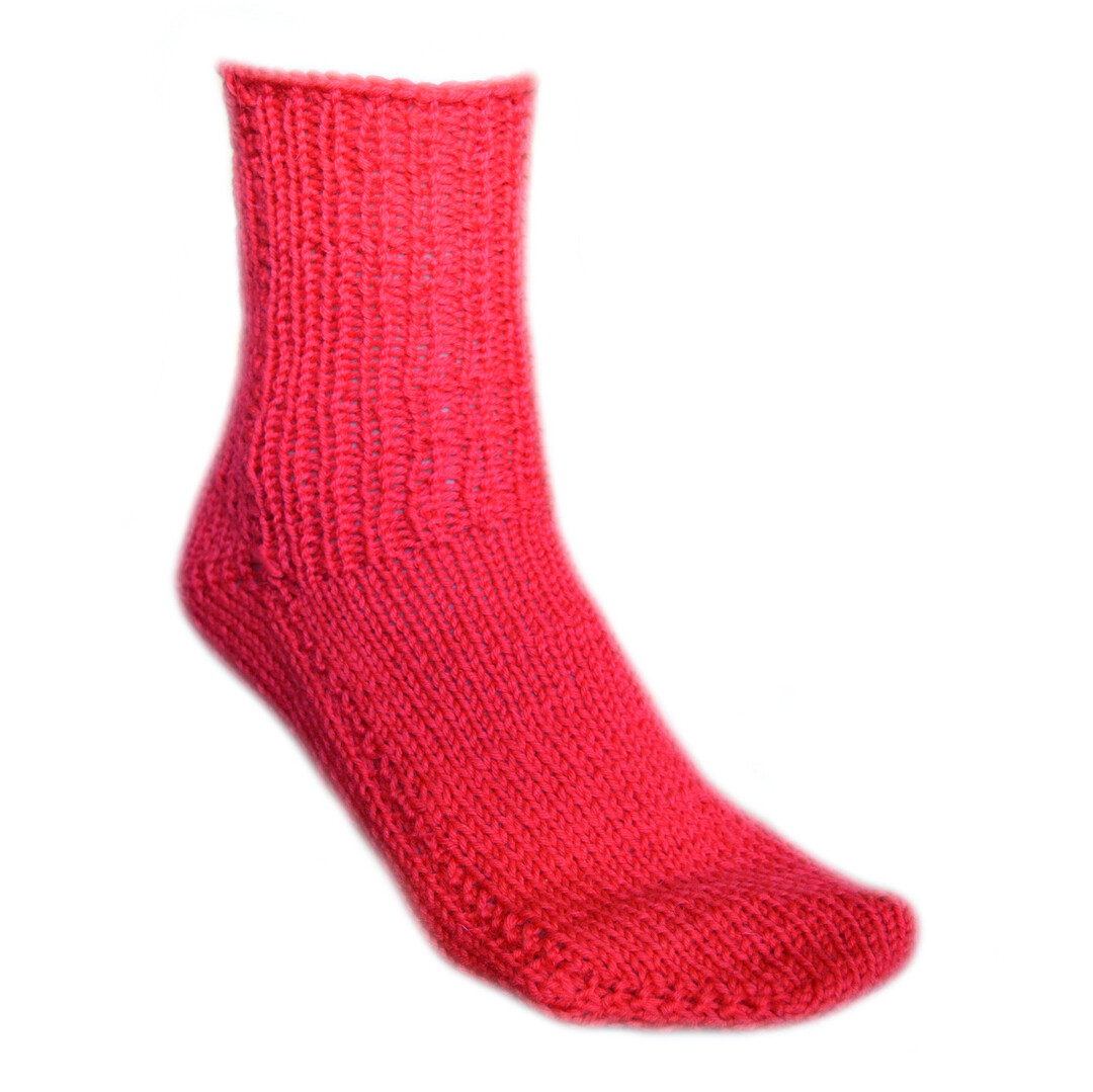 2 needle socks video knitting pattern - Woolpedia®