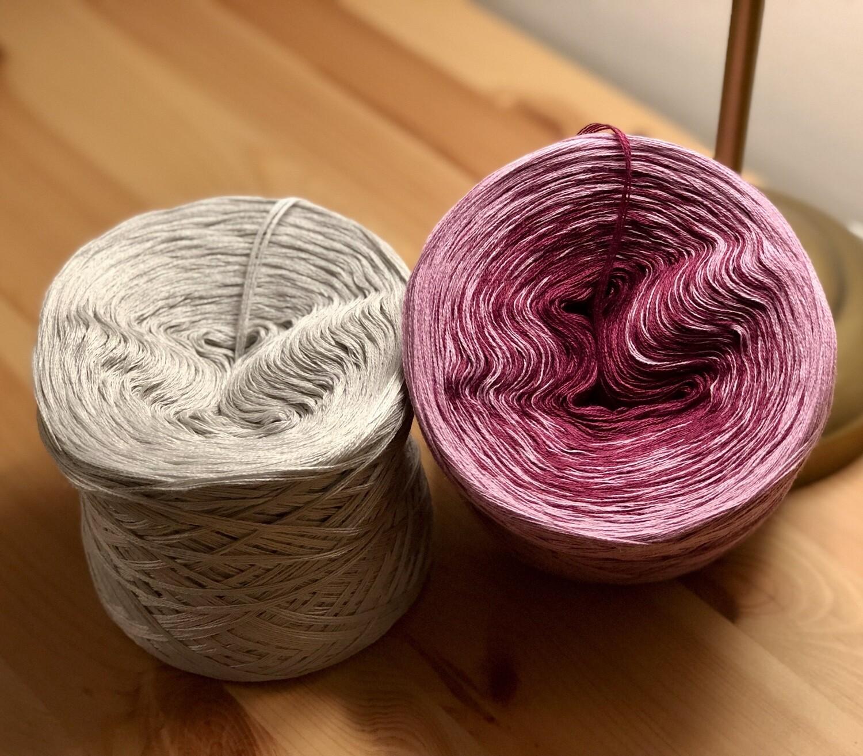Woolpedia® Colors Lines Set Purple III colorgrading yarn (cotton-mix)
