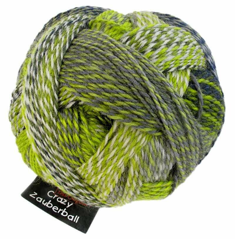 Schoppel Zauberball Crazy 4ply 100g gradient yarn