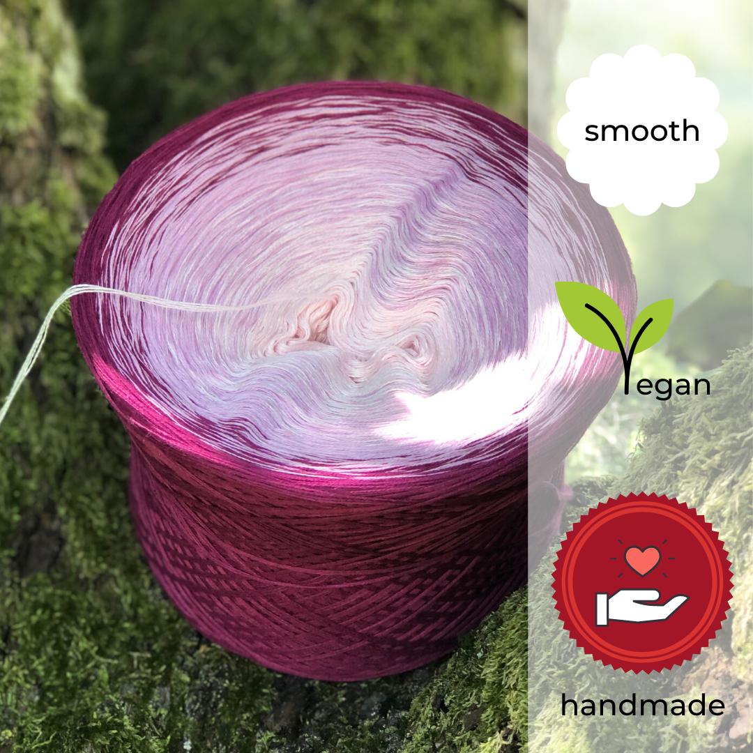 Woolpedia® Colors Raspberry Mascarpone V yarncake (cotton-mix)