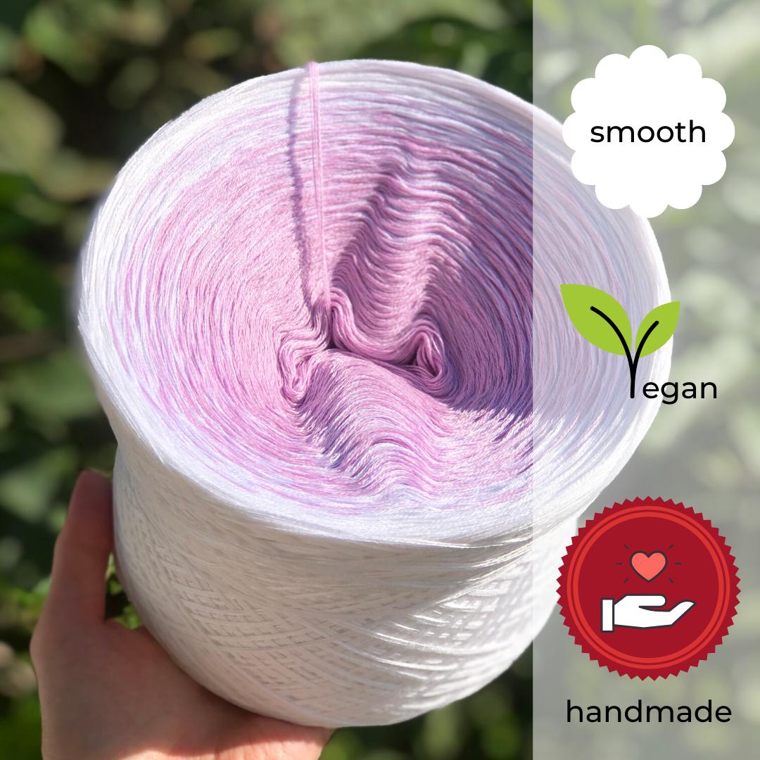 Woolpedia® Colors Violetta III gradient yarncake (cotton-mix)
