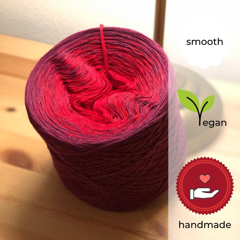 Woolpedia® Colors Berry Burst II gradient yarncake (cotton-mix)