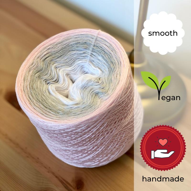 Woolpedia® Colors Angel II gradient yarncake (cotton-mix)