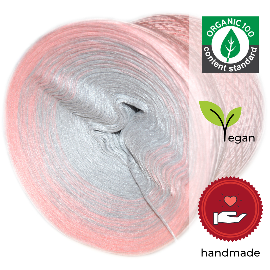 Woolpedia® Colors Passion IV organic gradient yarncake (pure cotton)