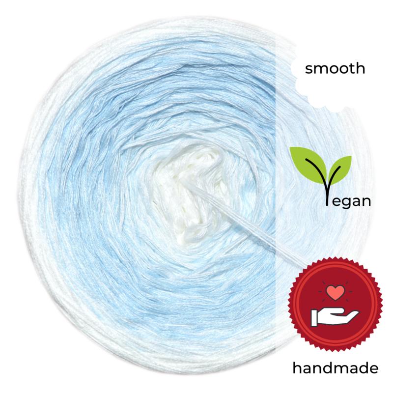 Woolpedia® Colors Zugspitze III gradient yarncake (cotton-mix)