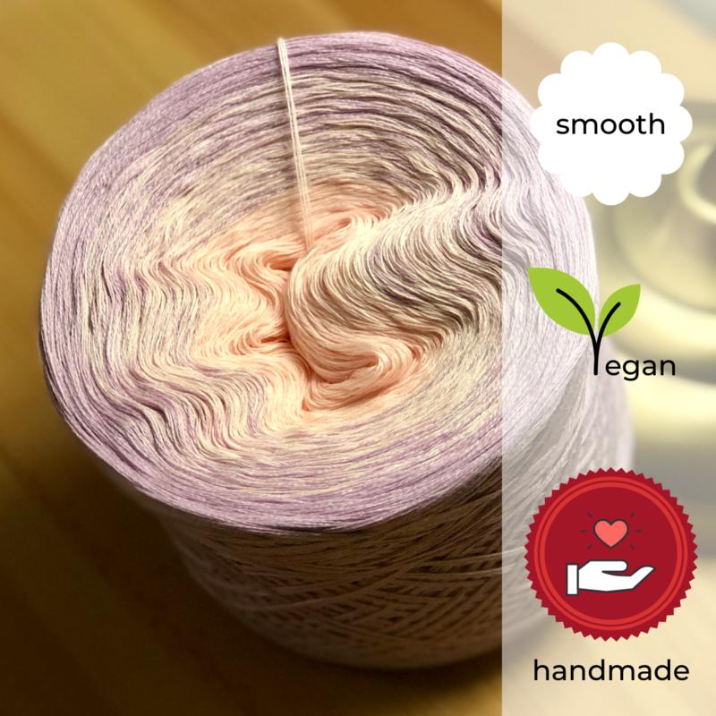 Woolpedia® Colors Virus VIII gradient yarncake (cotton-mix)