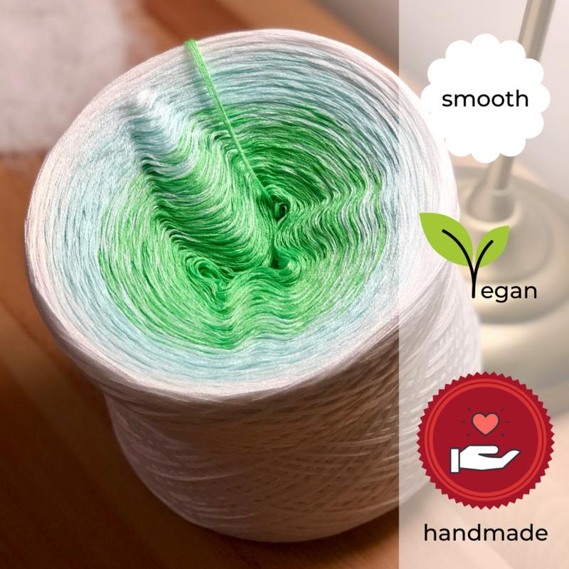 Woolpedia® Colors Prinzessin auf der Erbse III gradient yarncake (cotton-mix)