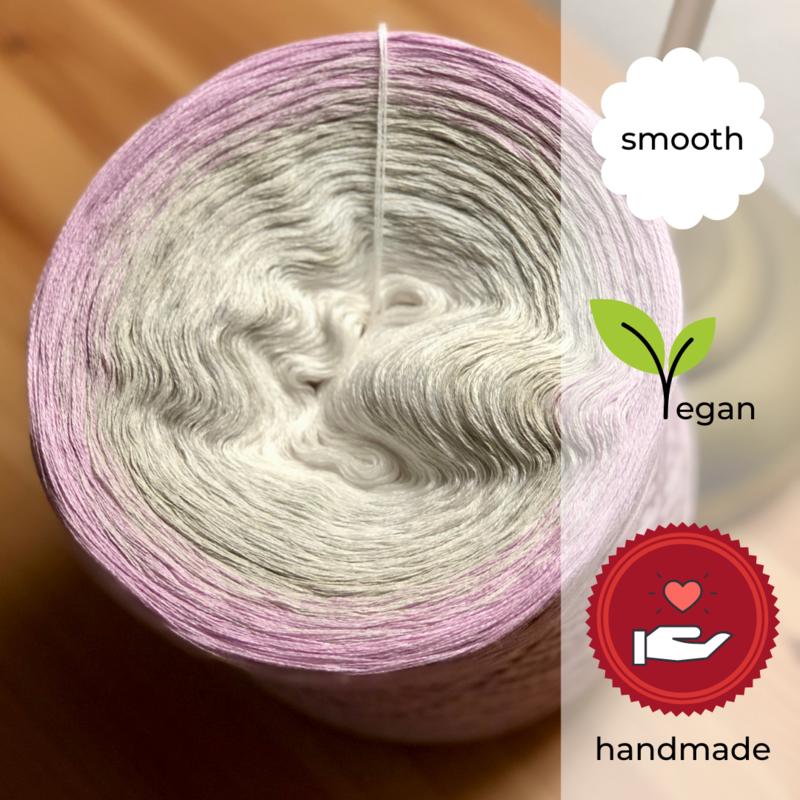 Woolpedia® Colors Blütenzauber III gradient yarncake (cotton-mix)