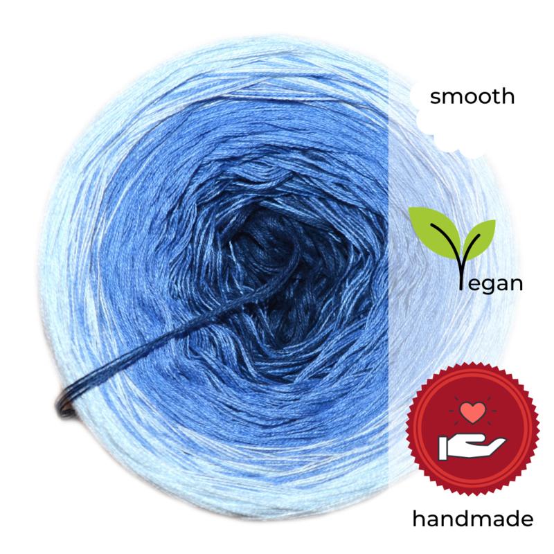 Woolpedia® Colors Wasserfall IV yarncake (cotton-mix)