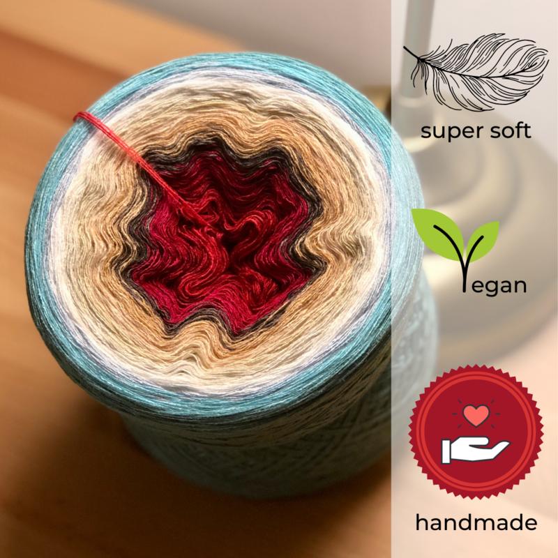 Woolpedia® Colors Ikaria gradient yarncake (modal)
