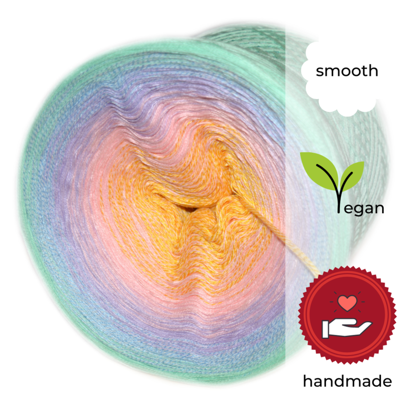 Woolpedia® Colors Rainbow Avenue IV yarncake (cotton-mix)
