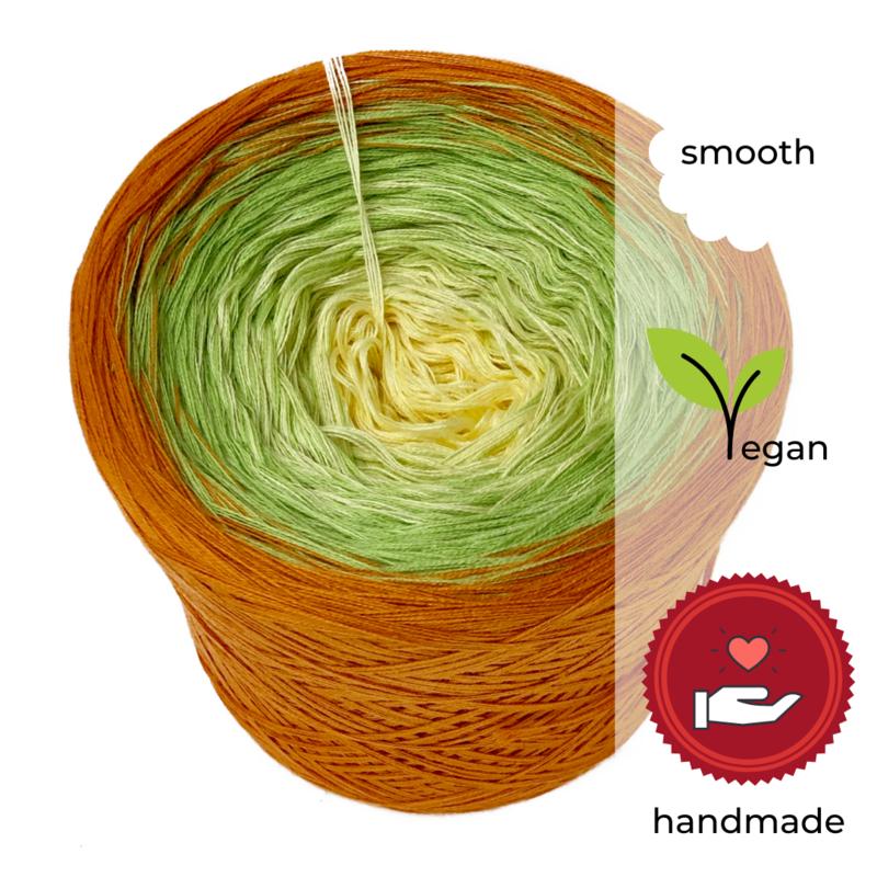 Woolpedia® Colors Summer Breeze IV gradient yarncake (cotton-mix)