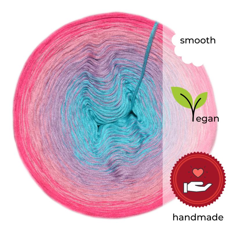 Woolpedia® Colors Kleines Einhorn II gradient yarncake (cotton-mix)